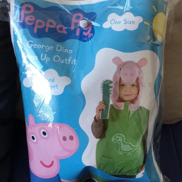 George Peppa Pig Toddler Halloween Costume